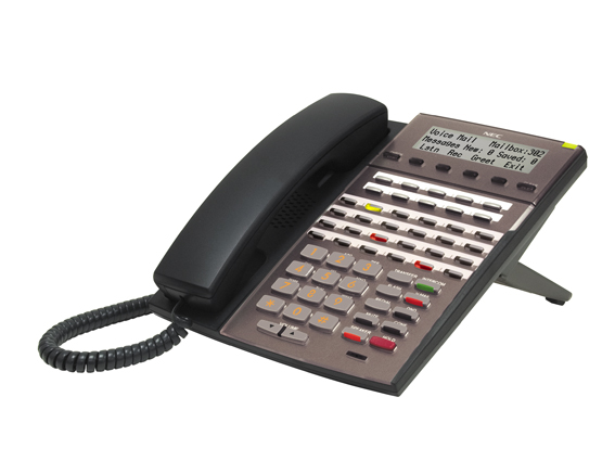 34-Button Backlit Display IP Telephone with Full-Duplex Speakerphone