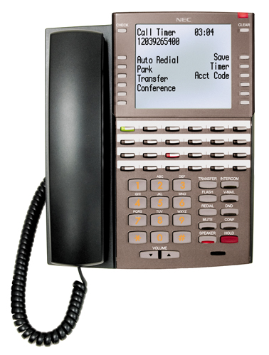 34-Button Backlit Super Display with Full-Duplex Speakerphone