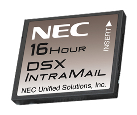 DSX IntraMail 8-Port/16-Hour Voice Mail